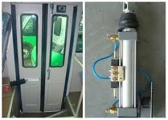 China Folding Air Cylinder Pneumatic Bus Door Antipinch For BYD Bus Parts supplier