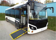 Good Quality Pneumatic Bus Door Systems & Conductor Foldable Wheelchair Ramp , Manual Wheelchair Ramp For Kinglong on sale