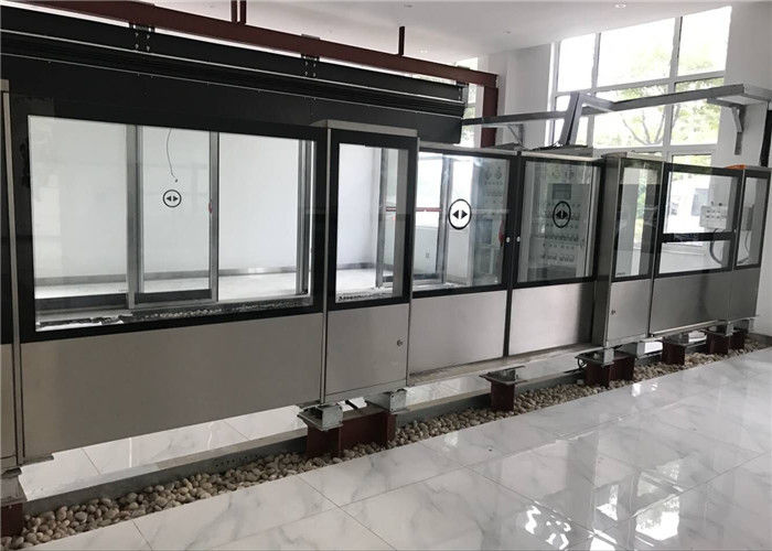 Up Hanging Bus Platform Screen Door System Lower Driving Half Height RS485  Communicate