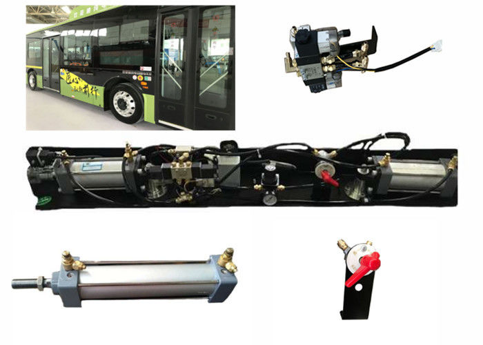 Pneumatic Inswing City Bus Passenger Door System With Sensitive Edge