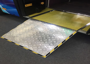 Vehicle Floor Installation Mobile Wheelchair Ramp TS16949 For City Bus