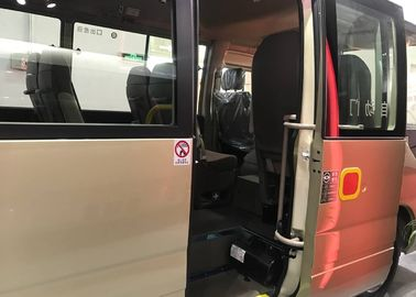 Electric Motor Automatic Bus Door System , Bus Door Parts For Coaster