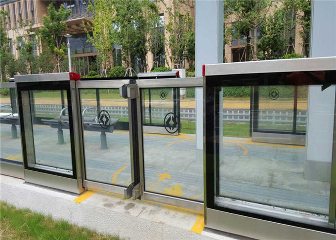 Slide Open / Closed Bus Platform Screen Door , Simultaneously Screen Door Systems